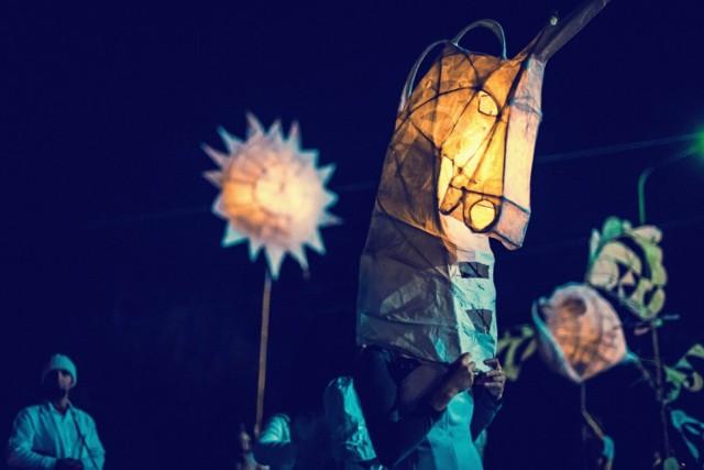 Parada lampionów w Głogowie