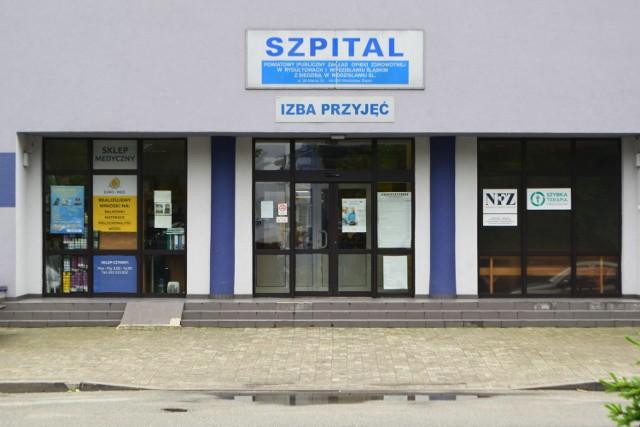 Testy potwierdziły przynajmniej 31 zakażeń w szpitalu w Wodzisławiu Śl.