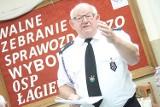 Wybrano nowe władze Ochotniczej Straży Pożarnej w Łagiewnikach [ZDJĘCIA]