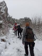 Harcerska akcja zimowa - harcerze z Hufca Ziemii Zawierciańskiej nie nudzili się w te ferie zimowe