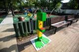 Czystozaury w Bielsku-Białej: bezdotykowe stacje do dezynfekcji rąk dla dzieci stanęły wokół placów zabaw