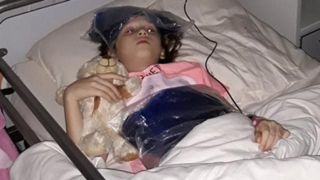 8-letnia Alicja czeka na pomoc ludzi dobrej woli.   Ulewa Inowrocław 13.07.2018