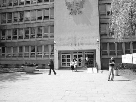Proces mecenasa B. toczył się w częstochowskim sądzie za drzwiami zamkniętymi. Foto: VIOLETTA GRADEK