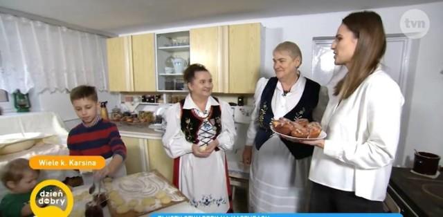 W lutym Halina Rogińska i Barbara Sałata w Dzień Dobry TVN przygotowywały pączki i purcle