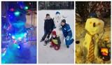 W Żorach zima na całego. Mieszkańcy ślizgają się na śniegu, lepią też bałwany. Zobaczcie zdjęcia!