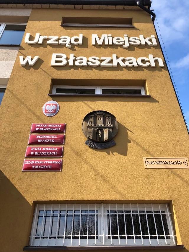 Koronawirus w Urzędzie Miejskim w Błaszkach