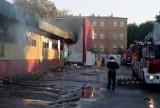 Pożar sklepu Platan w Szczecinie. Nadal nie wiadomo co było przyczyną pojawienia się ognia