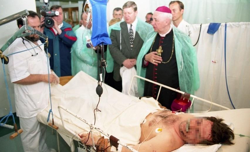 Po katastrofie spotkanie m.in. arcybiskupa Mariana...
