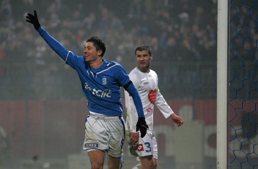 Sezon 2009/10 z Lechem Poznań (18 goli).