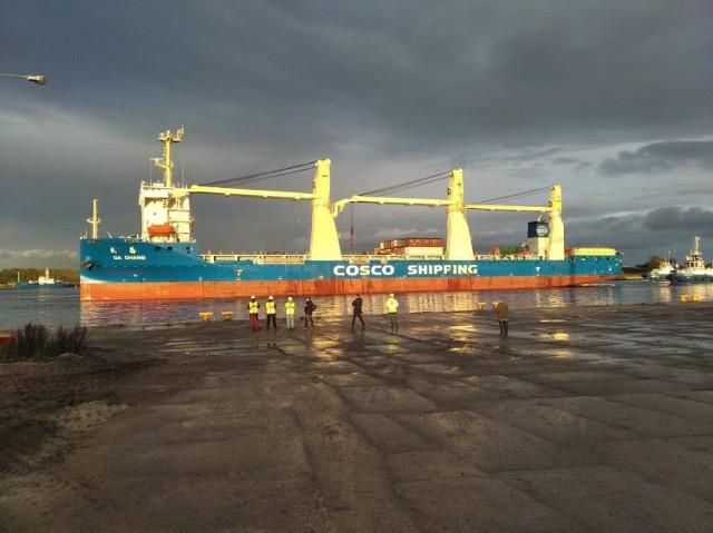 Da Chang już dziś zawitał do portu w Świnoujściu