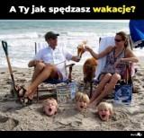 MEMY o wakacjach z dziećmi. Najlepsze sytuacje z życia wzięte
