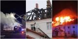 Pożar plebanii w Jakubowie pod Głogowem. Strażacy ratowali sanktuarium św. Jakuba. Straty są ogromne. ZDJĘCIA