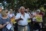 Około 100 sosnowiczan protestowało przed bramą katowickiego MPGK. Pikieta sosnowiczan