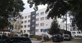 Rozbudowa szpitala w Ustce. Opieka i rehabilitacja z ogrodem zimowym