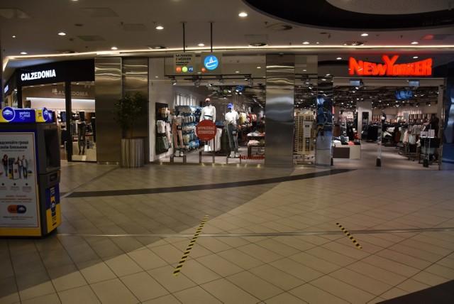 W galeriach oraz znajdujących się tu sklepach trzeba będzie zachować dystans społeczny.
