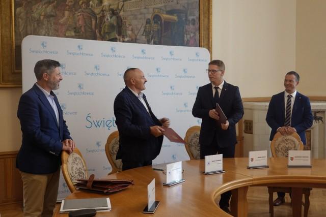 Podpisano umowę na remont Przedszkola Miejskiego nr 9 w Świętochłowicach.