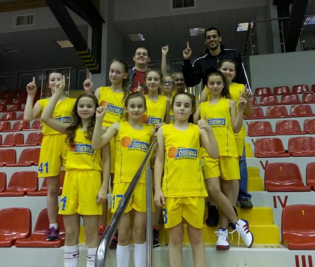 Żaczki U12 po awansie do grupy mistrzowskiej finału województwa sezonu 2014/2015