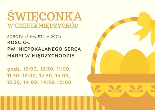 Święconka 2021 w gminie Międzychód