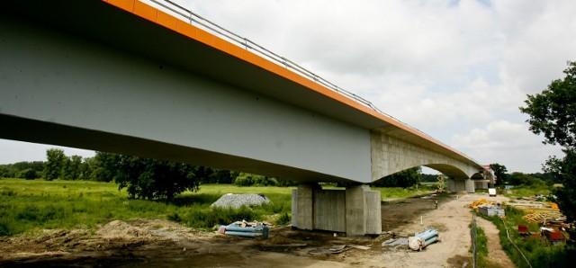 Most w Brzegu Dolnym - otwarcie w październiku 2013 r