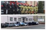Funkcjonariusze krotoszyńskich służb mundurowych oddali hołd tragicznie zmarłemu policjantowi [ZDJĘCIA]