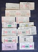 Stare bilety ZTM. Zobacz, jak zmieniały się na przestrzeni lat!