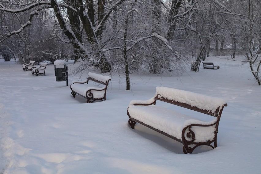 zima w Koszalinie