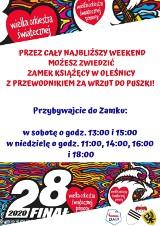 Zwiedź oleśnicki Zamek Książęcy i wspomóż Wielką Orkiestrę Świątecznej Pomocy!