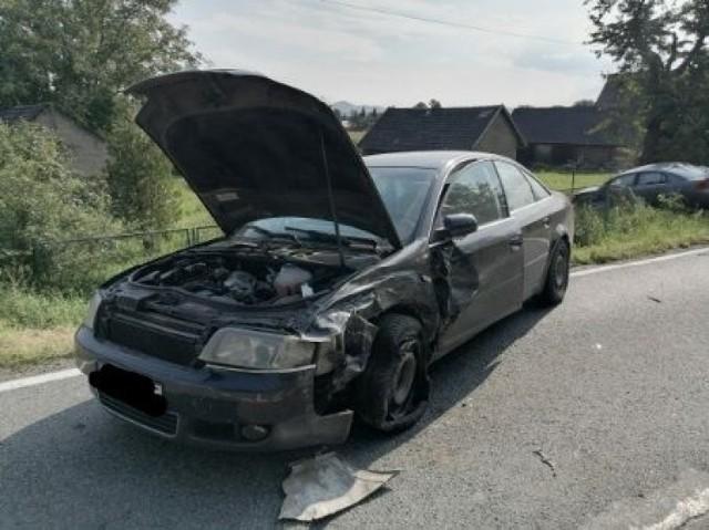 2,4 promila alkoholu w wydychanym powietrzu miał mężczyzna, który spowodował zderzenie w Domosławicach na DW 980