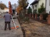 Ruszyły prace na ul. Leszczyńskich w Kobylinie [ZDJĘCIA]