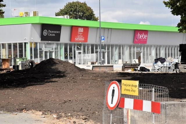 Centrum handlowe na placu po byłym dworcu autobusowym w Inowrocławiu już prawie gotowe. Jego oficjalne otwarcie odbędzie się za kilkanaście dni