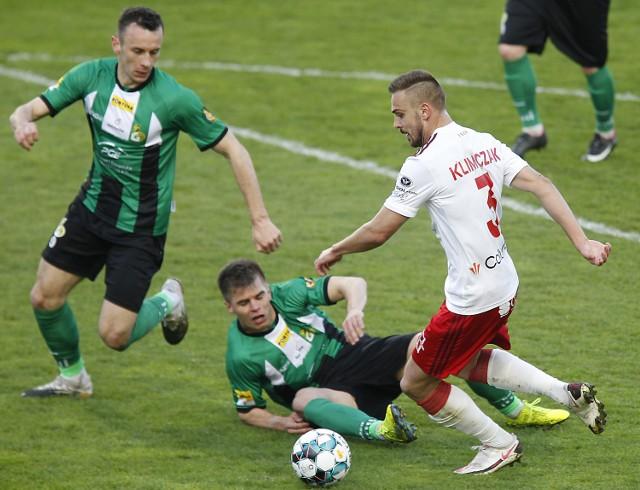 Uciec z ostatniego miejsca w tabeli I ligi celem GKS Bełchatów