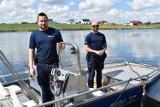 Policja Śrem gotowa do wypłynięcia na wody jeziora Grzymisławskiego. Przypominamy, że 1 czerwca w Śremie rusza sezon kąpielowy!