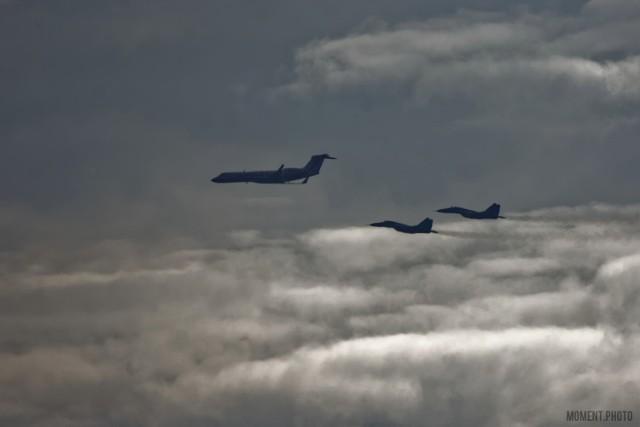 Element szkolenia lotniczego ZLOT 2020.