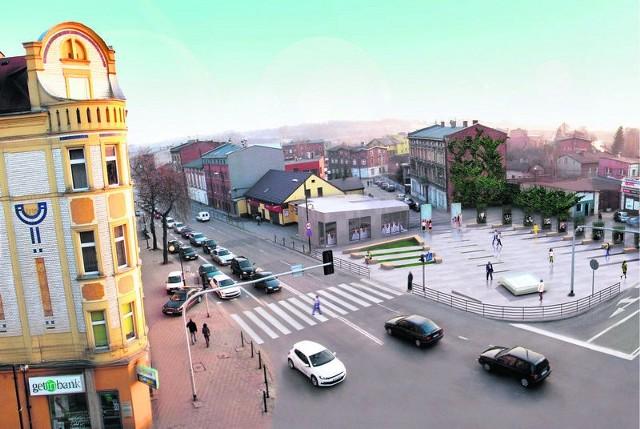 Strategia zakłada, że do 2020 roku powstanie nowe centrum miasta. Początek zmian może stanowić plac