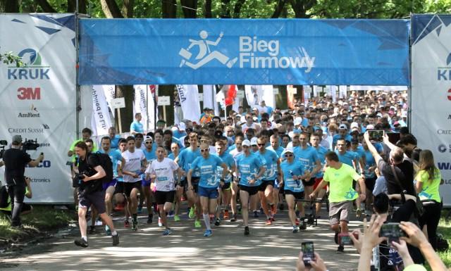 Bieg Firmowy 2018 we Wrocławiu. Zdjęcia z Biegu Firmowego we Wrocławiu - 19 maja 2018 r.