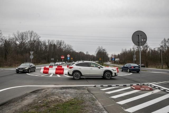 Rondo na ulicy Jasnogórskiej w Krakowie