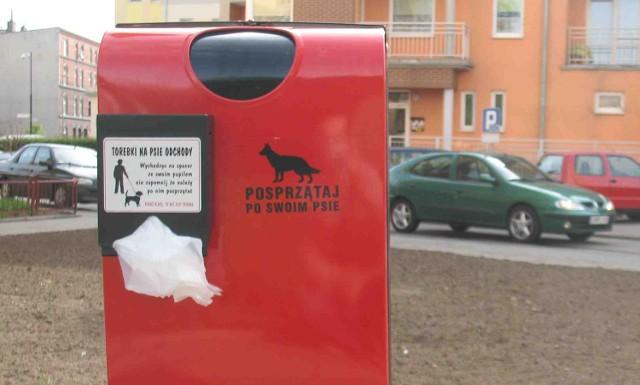 Jeden z psich pakietów przy ulicy Sienkiewicza w Malborku