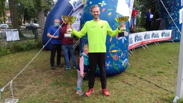 7. Bieg o Złotą Górę w Kartuzach. Grzegorz Kujawski z Pucka drugi na 5 km