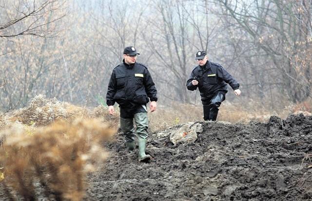 Środowe poszukiwania w okolicach Olechówki.