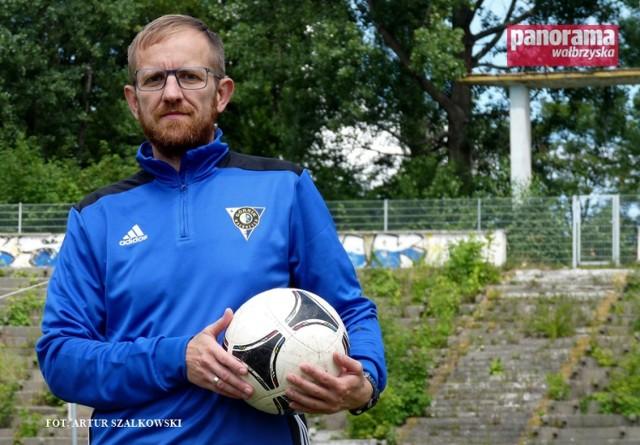 Mariusz Piejko, trener juniorów w piłkarskim Górniku Nowe Miasto Wałbrzych