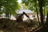 Trwa budowa Ośrodka Edukacji Ekologicznej w Rychliku