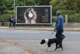 """Kampania """"STOP Komunii Świętej na rękę!"""" przywędrowała do Katowic. Krwawa hostia na brudnych rękach - szokujące billboardy w Katowicach"""