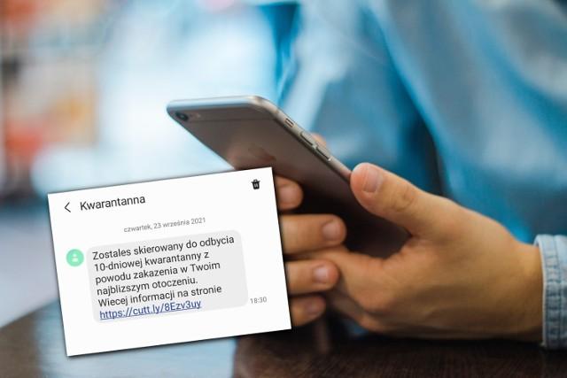 Uwaga! Tych wiadomości nie rozsyła sanepid. Nie klikaj w link przesłany w tych SMS-ach