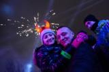 Sylwester miejski w Lublinie. Najwięcej osób witało Nowy Rok na koncercie pod CSK (WIDEO, ZDJĘCIA)