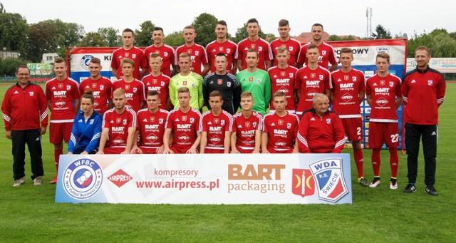W sesji wzięło udział 24 piłkarzy. Zabrakło jedynie Rafała Lipińskiego, który jako trener przebywa na obozie sportowym z orlikami Wdy.