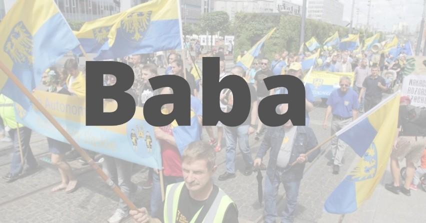 """BABA - po polsku """"kobieta"""", po turecku """"ojciec"""".Dla Turka..."""
