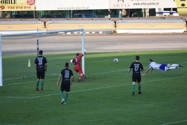 Piłkarze ROW-u Rybnik drugi raz w tym sezonie stracili cztery bramki w domowym meczu