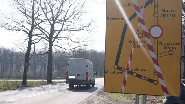 Droga wojewódzka 355 - remont od 7 kwietnia