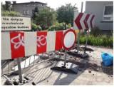 Wandal w Bielsku-Białej zniszczył 50 znaków. Jest nagroda za złapanie sprawcy!
