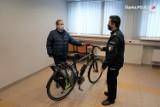 Lubliniec: Policja otrzymała rower od Urzędu Miasta. Dzięki nowemu jednośladowi wzrośnie liczba patroli rowerowych